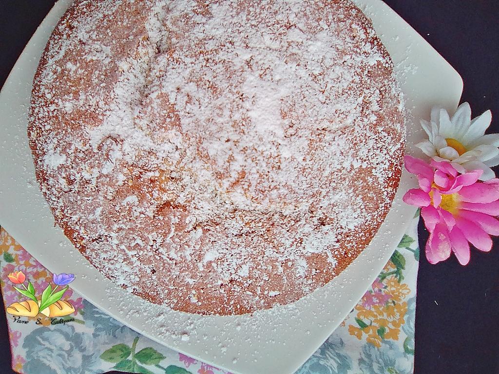 torta strudel con torrone