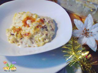 lasagne con verza e funghi