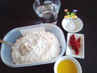 sfogliette rosa con farina ai cereali