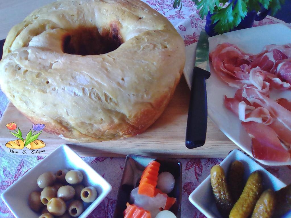 pane con speck e salsa verde
