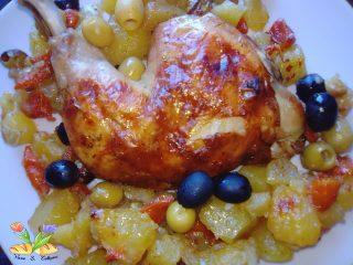 pollo di inaugurazione al cartoccio.