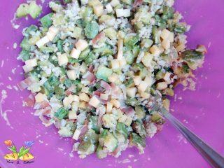 indivia al forno ripiena con zucchine