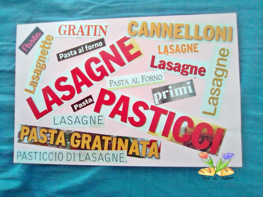 pasticciando tra lasagne e pasticci