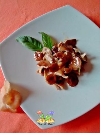 padellata di imbutini al basilico