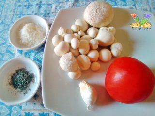 funghi vescia con pomodoro ramato