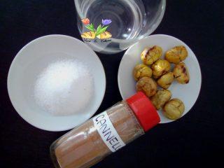caldarroste sciroppate con rum e cannella