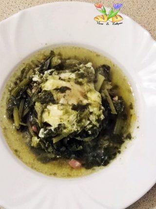 Finta minestra maritata con uova