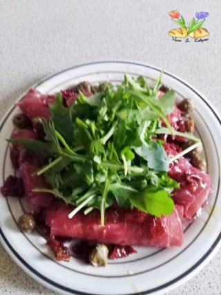 involtini di carne salata