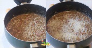 risotto con crema di brasato