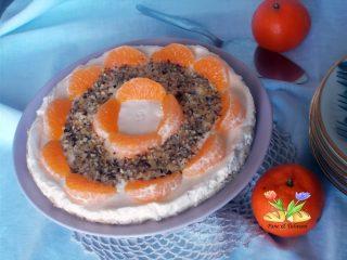 cheesecake con crema di mascarpone e mandarancio