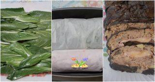 polpettone con coste e patate