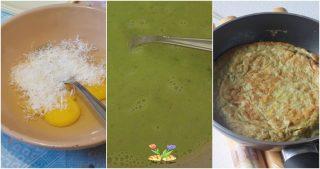 rotolo di frittata con salsa verde
