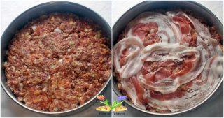tortino di carne con uova