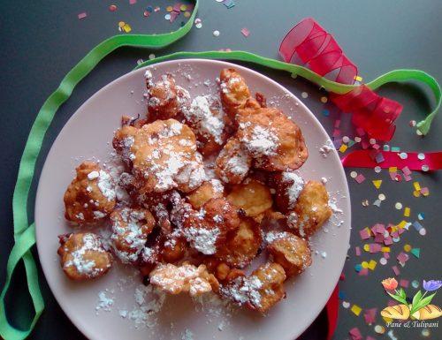 Tortelli di Carnevale al cocco