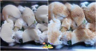 broccoletti gratinati con provola
