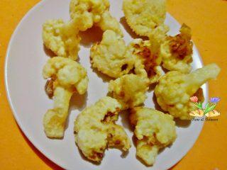 cavolfiore in pastella con spezie