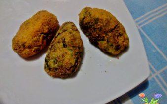 crocchette di patate con crespigno