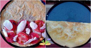 omelette alla pizzaiola