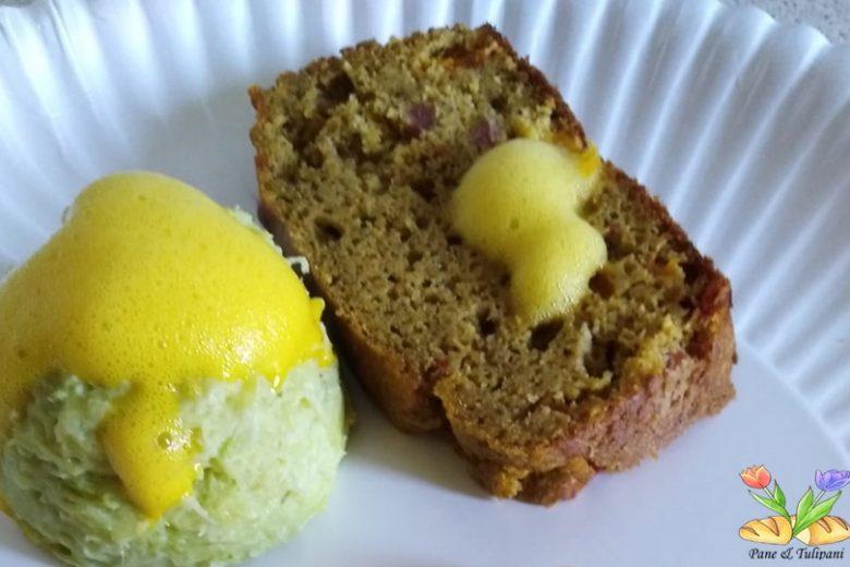 Plumcake gluten free con peperoni e salame