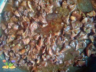 polenta con porcini e cotechino