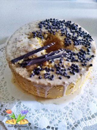 chiffon cake gluten free al pistacchio