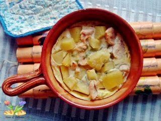 chafoutis di pollo e patate con erbe