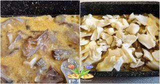 frittata al forno con carciofi e stoccafisso