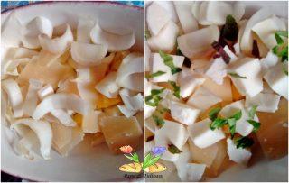 insalata mista con crema