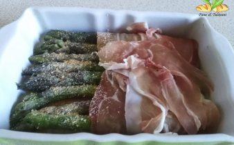 terrina di asparagi con prosciutto crudo