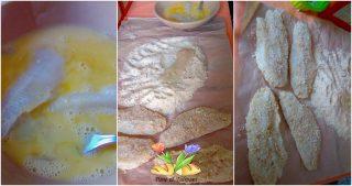 filetti di merluzzo con vellutata di soncino