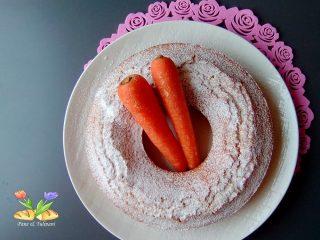 ciambella alle carote con semi di girasole