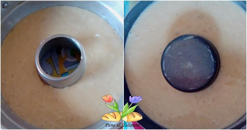 ciambella con purea di banane