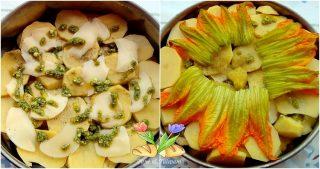 teglia di patate e melanzane