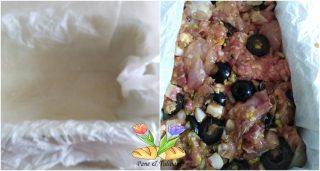 terrina di maiale con olive nere