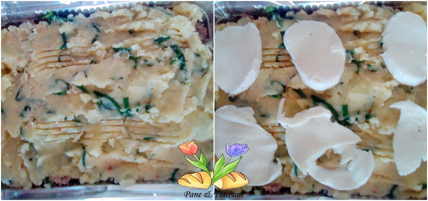 tortino di patate farcito