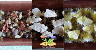 mini clafoutis di melanzane