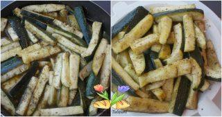 caponata di zucchine con frutta secca