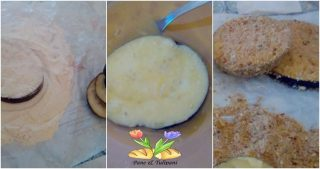 tortino di melanzane impanate
