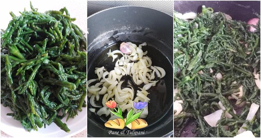 zuppa di cozze con salicornia