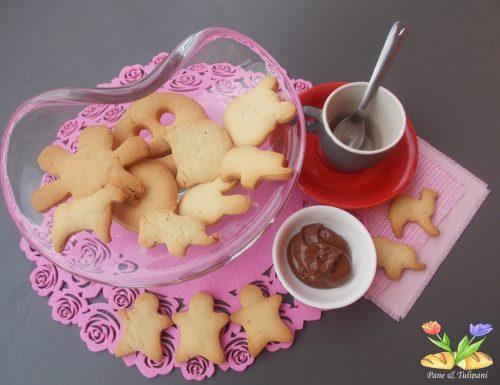 Biscotti di frolla morbida