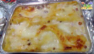 lasagne con cavolfiori e pollo