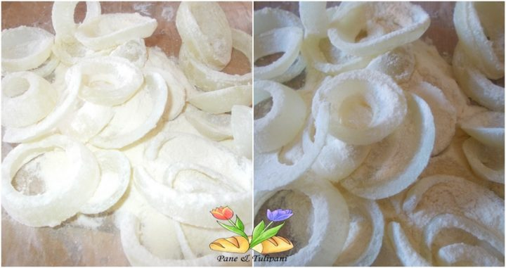 onion rings al coriandolo