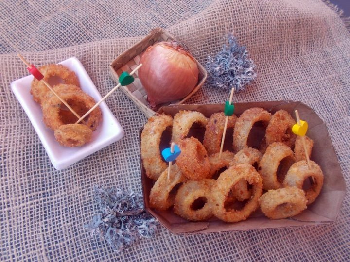 onions rings al coriandolo