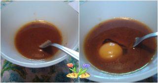 cappello di prete in salsa di uova