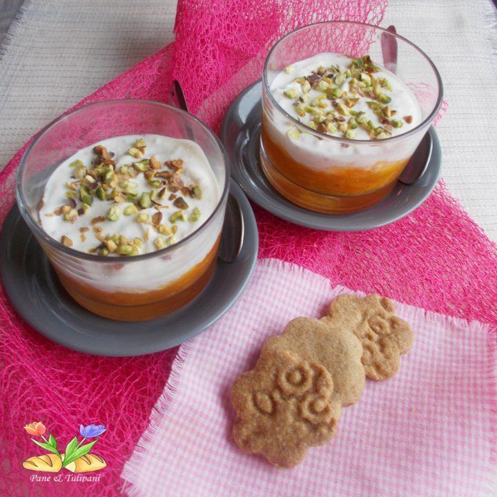 dessert cremoso di cachi