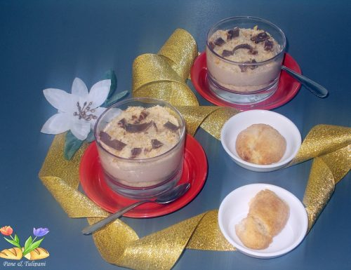Crema con castagne e marsala