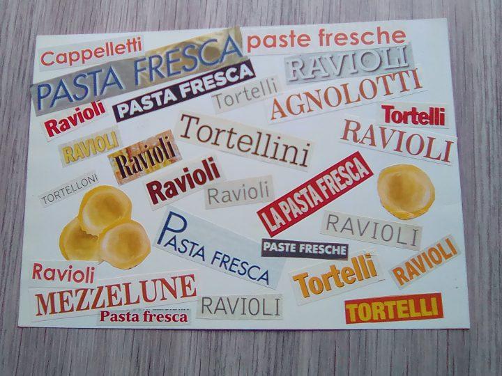 pasta fresca ripiena, tortellini e ravioli