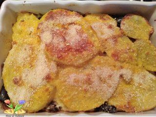 tortino di patate con merluzzo