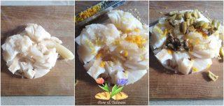 cartoccio di stoccafisso al profumo di agrumi