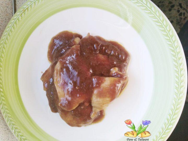 fettine di pollo con salsa di soia